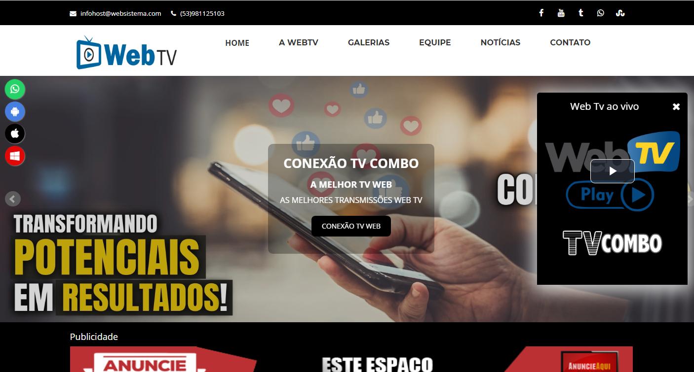 Site Web Tv 1