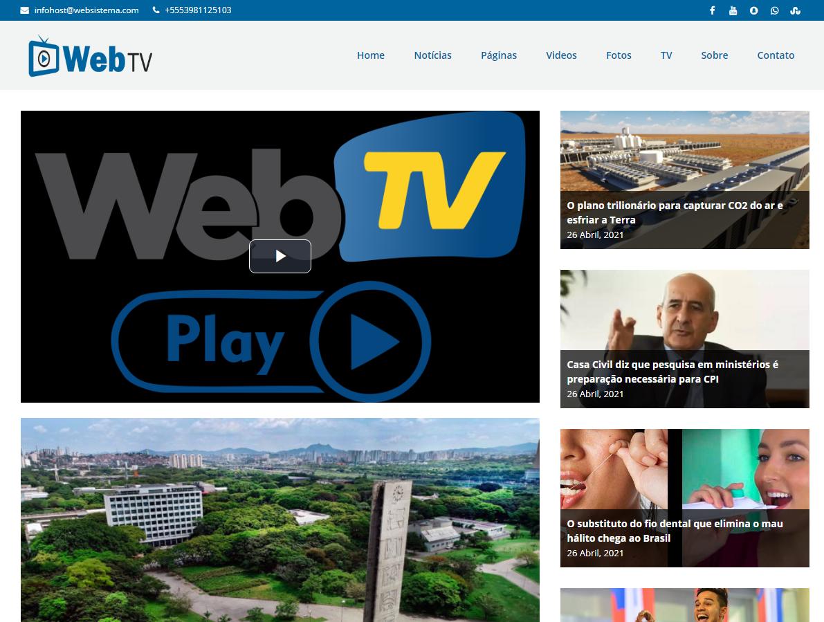 Site Web Tv 4