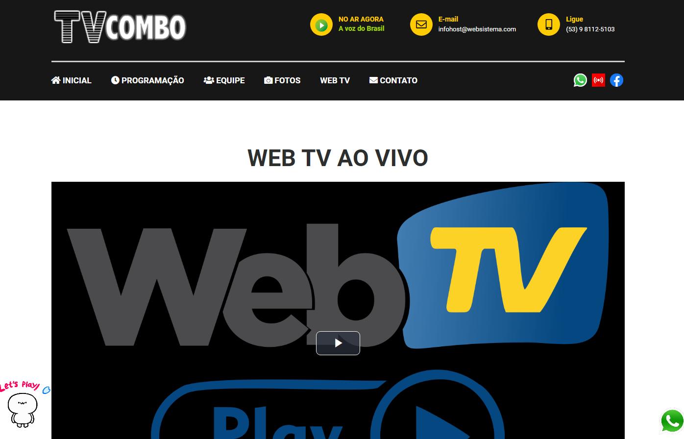 Site Web Tv 2